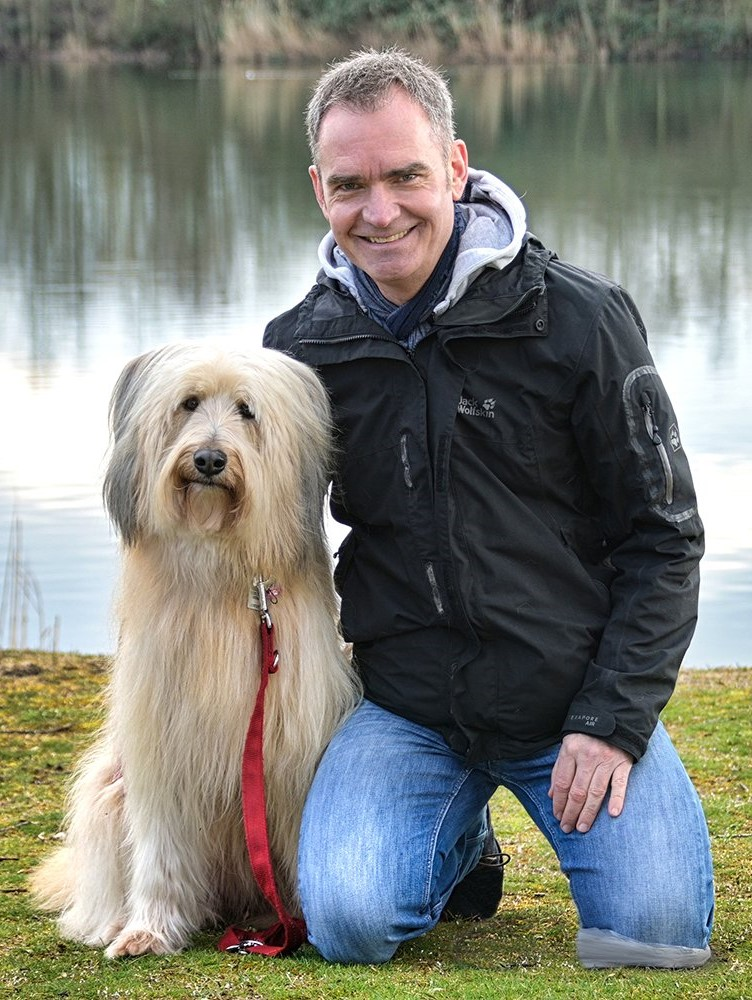 Thomas Schreiber mit Flocke